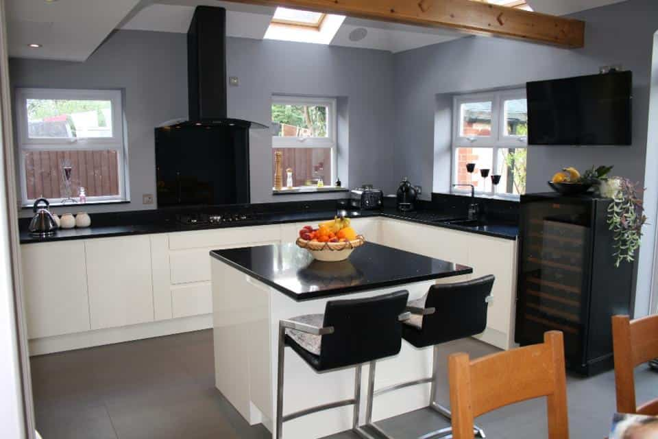 Kitchen designed and installed for our client in Banbury Oxfordshire.