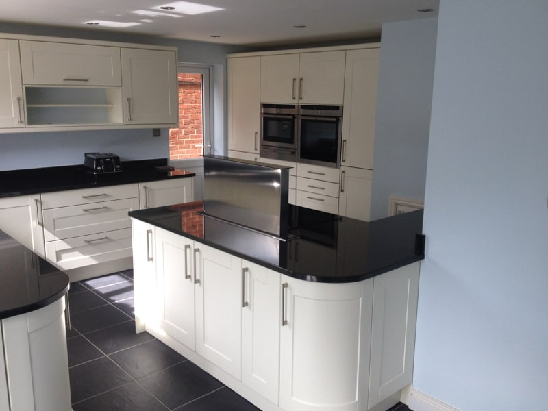 A total kitchen redesign in Langford Village, Bicester, Oxfordshire.