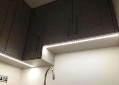LED under cupboard lighting feature