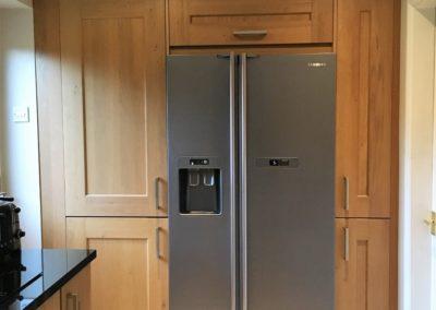 Purpose built unit to house fridge freezer & boiler