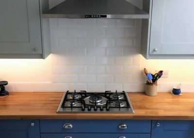 Broadoak Painted Kitchen & European Oak Worktops