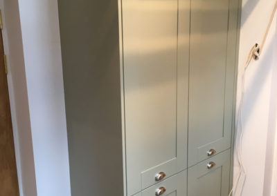 Bespoke cabinet to house boiler and fuse box