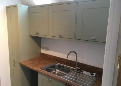 Utility room in Sage Grey Ash