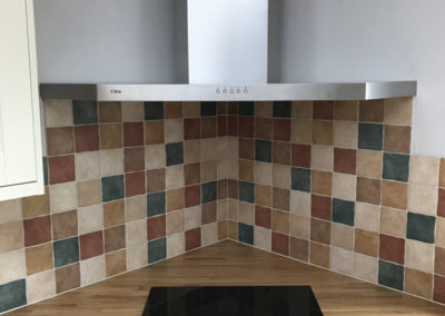 Corner Induction Hob