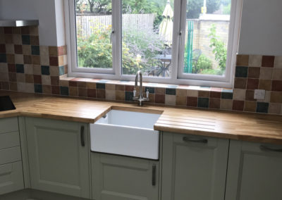 Beautiful Belfast Sink & new windows