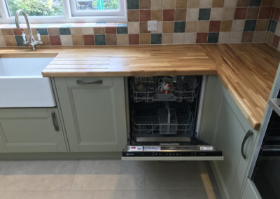 Features - integrated dishwasher