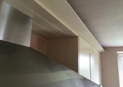 Finished to ceiling