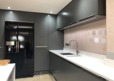 American fridge freezer & storage