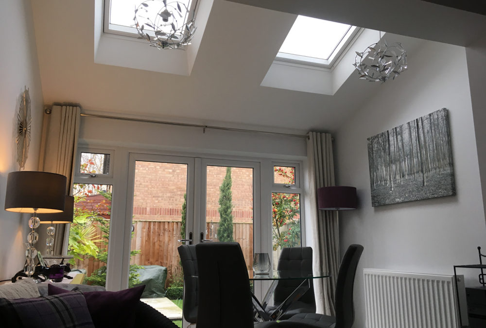 Stylish single storey extension