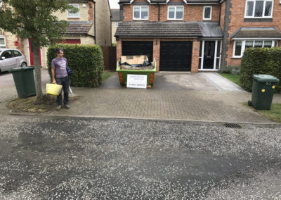 Keeping the front of the property tidy and easy to access